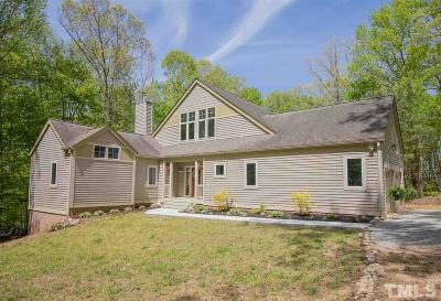 Granville County Single Family Home For Sale: 5175 Lakefront Drive