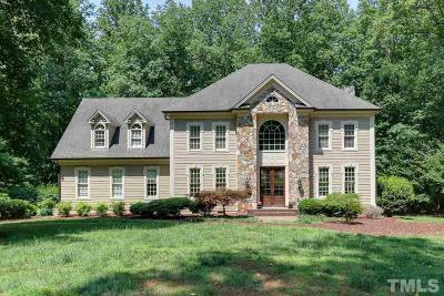 Raleigh Single Family Home Contingent: 9713 Pentland Court