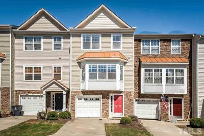 Apex Townhouse For Sale: 107 Brittingham Loop