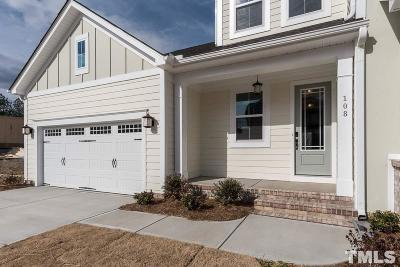 Holly Springs Rental For Rent: 108 Moore Hill Way