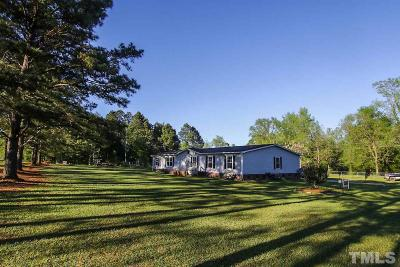 Harnett County Manufactured Home For Sale: 2363 Bunnlevel Erwin Road