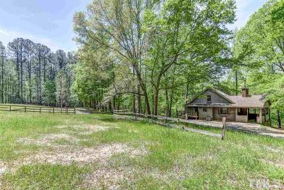 Wake County Single Family Home For Sale: 413 Sleepy Valley Road