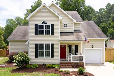 Wake County Single Family Home For Sale: 2707 Knightwood Road