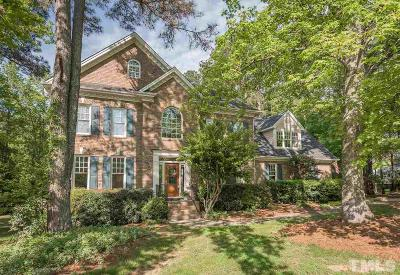 Fuquay Varina Single Family Home For Sale: 4817 Greenshadow Court
