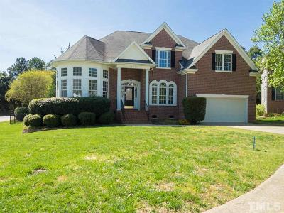 Raleigh Single Family Home For Sale: 12501 Boone Hall Court