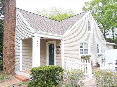 Garner Single Family Home Pending: 110 Johnson Street