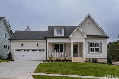 Fuquay Varina Single Family Home For Sale: 2308 Plowridge Road #Lot 275