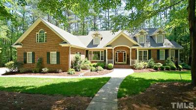 Apex Single Family Home Contingent: 330 Chapel View Drive