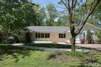 Wake County Single Family Home For Sale: 2606 Mayview Road