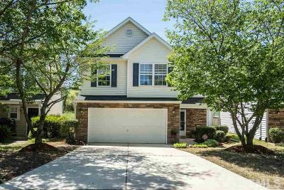 Durham Single Family Home Contingent: 1110 Orchard Oriole Lane