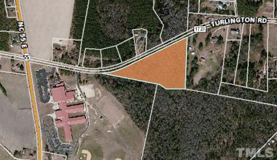 Dunn Residential Lots & Land For Sale: Turlington Road