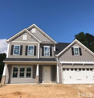 Knightdale Single Family Home For Sale: 4711 Sleepy Falls Run #Lot 48