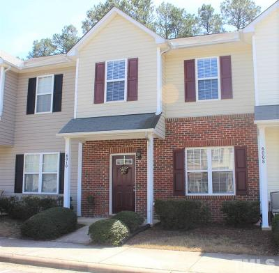 Raleigh Townhouse For Sale: 6010 San Marcos Way