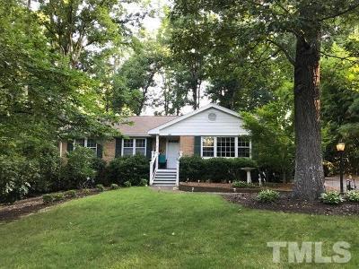 Raleigh Rental For Rent: 3318 Ocotea Street