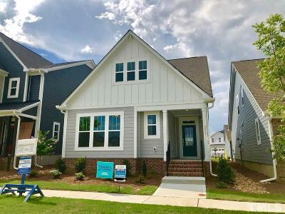 Raleigh Single Family Home For Sale: 5521 Advancing Avenue #1072
