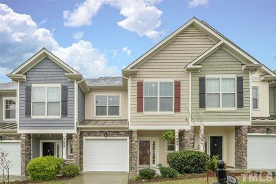 Cary Townhouse For Sale: 1086 Indigo Ridge Place