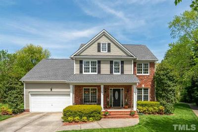 Morrisville Single Family Home Contingent: 144 Dallavia Court