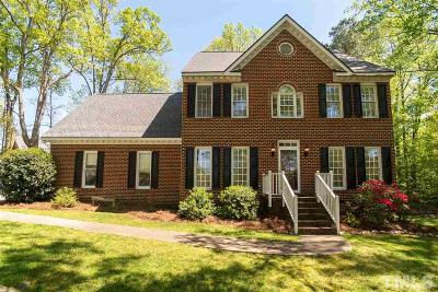 Wake Forest Single Family Home For Sale: 5504 Chimney Swift Drive