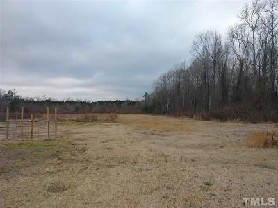 Johnston County Residential Lots & Land For Sale: 615 Barbour Road