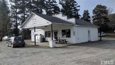 Granville County Commercial For Sale: 1227 W Nc 158 Highway