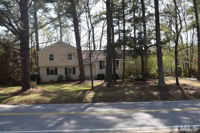 Garner Single Family Home For Sale: 1513 Creech Road