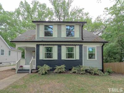 Durham Single Family Home For Sale: 208 N Hyde Park Avenue