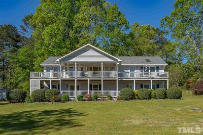 Wake County Single Family Home For Sale: 9409 Golfside Drive