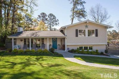 Raleigh Single Family Home Contingent: 3408 Dell Drive