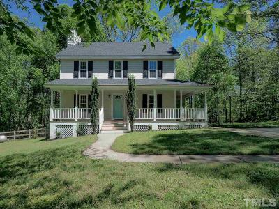 Fuquay Varina Single Family Home For Sale: 282 Troy Drive