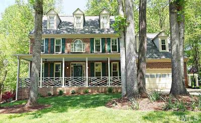 Cary Single Family Home Contingent: 106 Clubstone Lane