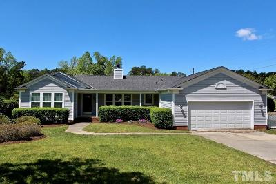 Apex Single Family Home For Sale: 1200 Shackleton Road
