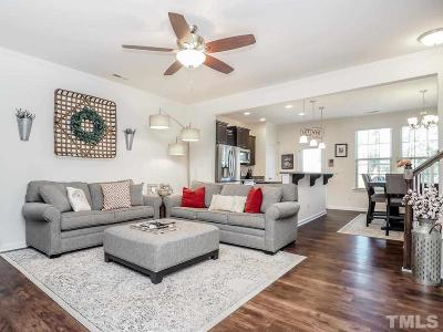 Wake Forest Townhouse For Sale: 3809 Windsnap Drive