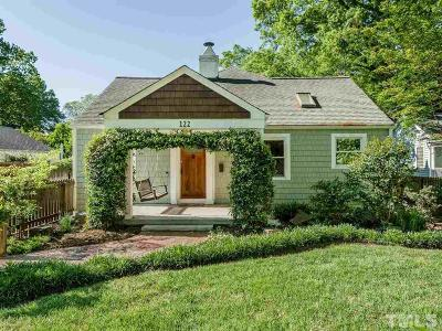 Raleigh Single Family Home For Sale: 122 Georgetown Road