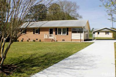 Durham Single Family Home For Sale: 3541 Gibson Road