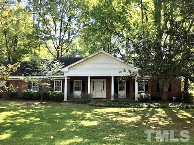 Wendell Single Family Home For Sale: 345 Commander Drive