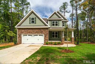 Holly Springs Single Family Home For Sale: 628 Bass Lake Road