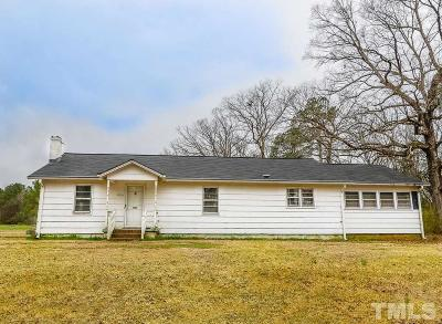 Angier Single Family Home For Sale: 1920 Pearidge Road