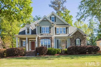Clayton Single Family Home For Sale: 125 Mantle Drive