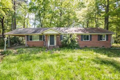 Durham Single Family Home For Sale: 2020 Hillandale Road
