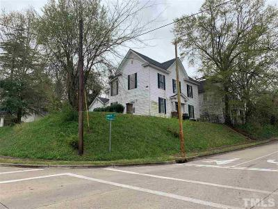 Henderson NC Single Family Home For Sale: $65,000