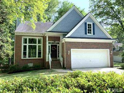 Cary NC Single Family Home For Sale: $349,500