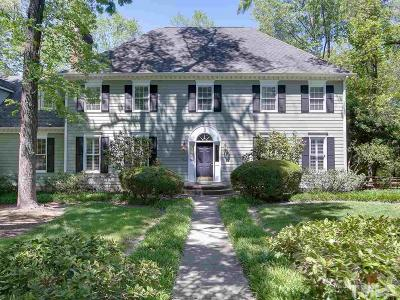 Durham Single Family Home Contingent: 4312 Brookshire Road
