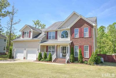 Harnett County Single Family Home For Sale: 522 Old Field Loop