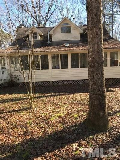 Youngsville Single Family Home Contingent: 536 Fleming Road