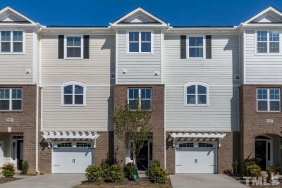 Cary Townhouse For Sale: 1505 Gathering Park Circle #3