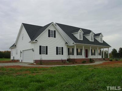 Pittsboro Single Family Home For Sale: 31 Dairymont Drive