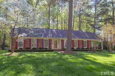 Durham Single Family Home For Sale: 5512 Wescott Place