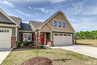 Johnston County Townhouse For Sale: 92 Powderhorn Point