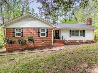 Durham Single Family Home Contingent: 3507 Eastis Drive