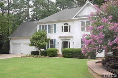 Raleigh Single Family Home For Sale: 8101 Laurel Mountain Road